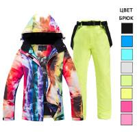 Лыжный костюм для женщин WE020-1