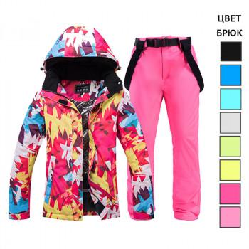 Лыжный женский костюм WE020-2, размер S - XXL
