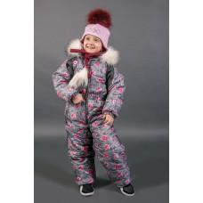Горнолыжный комбинезон для девочки E000941-5