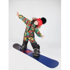 Камуфляжный горнолыжный комбинезон для детей E00146-12