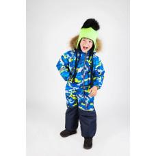 Камуфляжный горнолыжный комбинезон для мальчика E00146-10