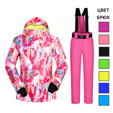 Женский горнолыжный костюм GK116