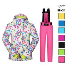 Женский горнолыжный костюм GK122