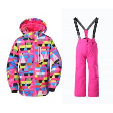 Горнолыжный костюм для девочки DM008