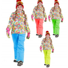 Горнолыжный костюм для девочки DM010-3